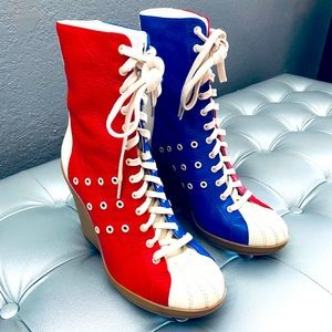 NEW! Adidas Jeremy Scott Limited Ed. Bowling Boots
